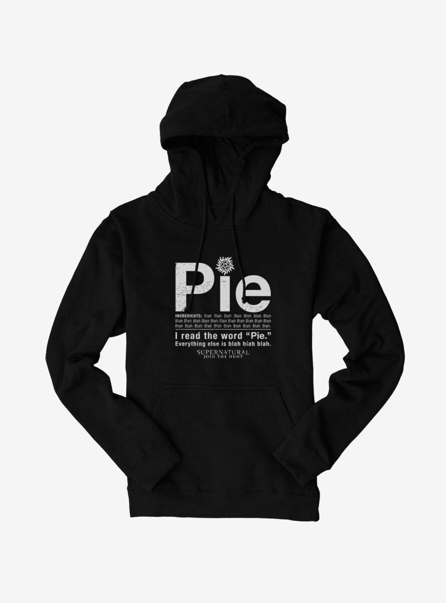 Supernatural Pie Hoodie