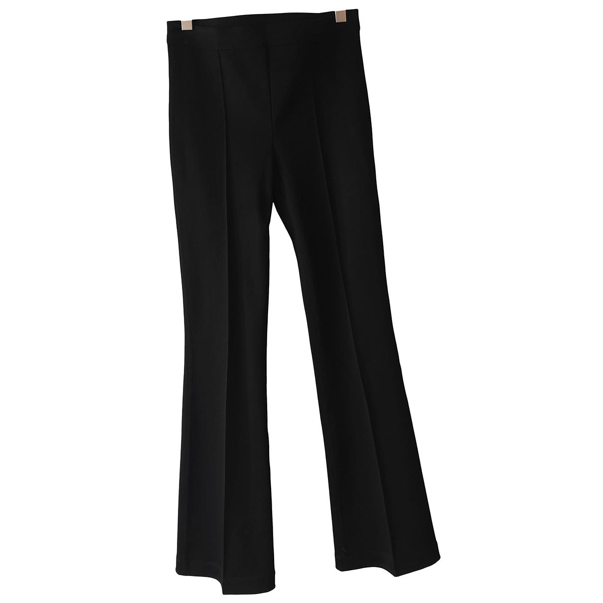 Helmut Lang \N Black Trousers for Women S International