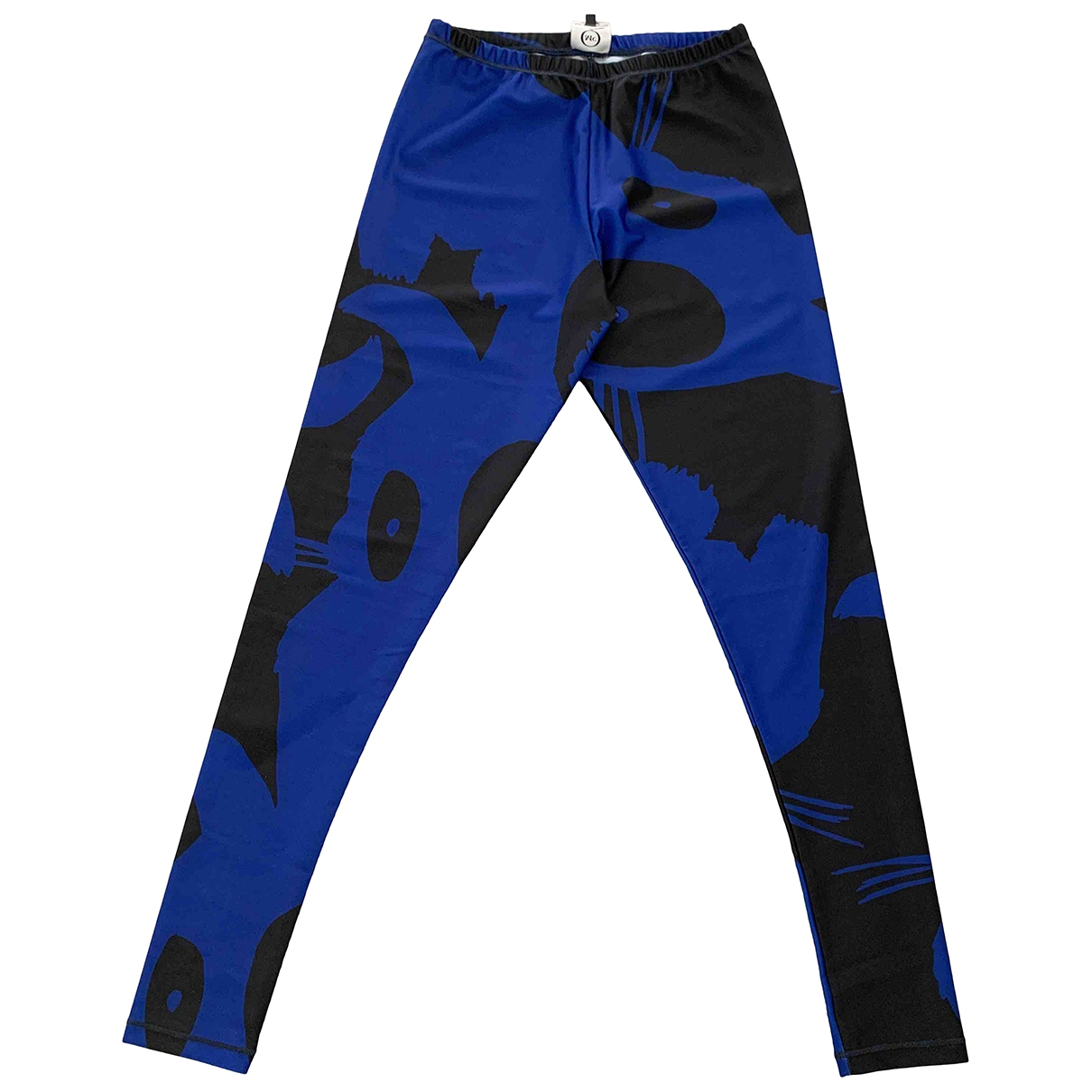 Mcq \N Blue Trousers for Women XS International