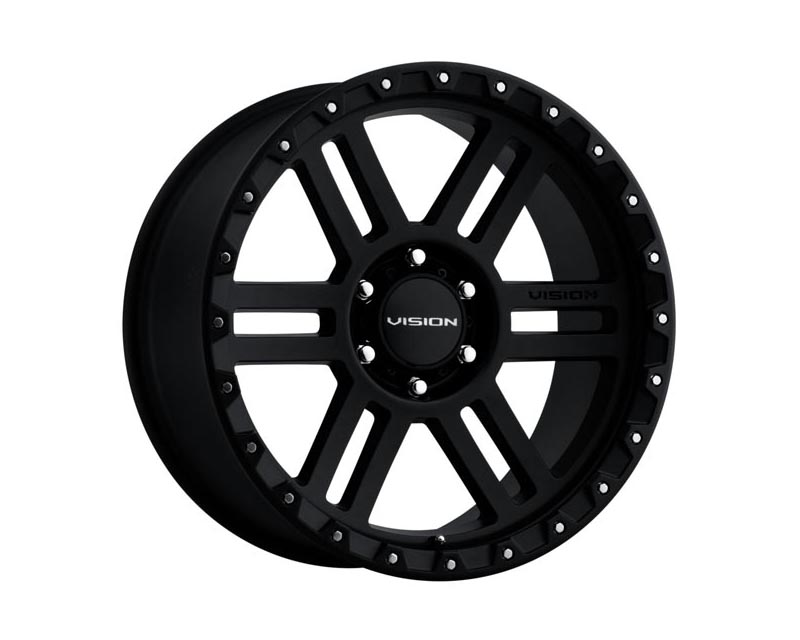 Vision Wheels 354-2985SB-12 Manx 2 Wheel 20x9 5x139.70x12 BKMTXX Satin Black