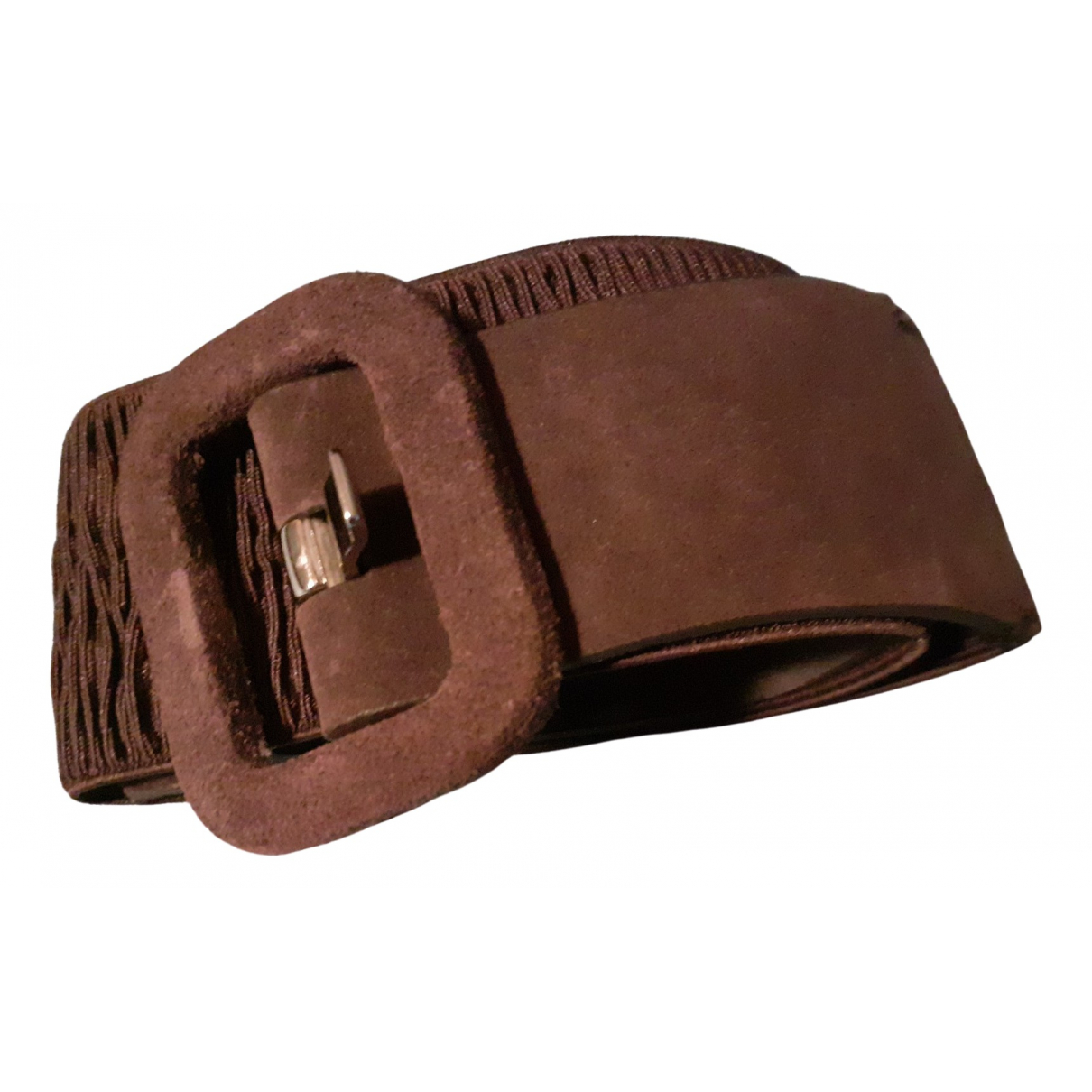 Calvin Klein \N Brown Suede belt for Women M International