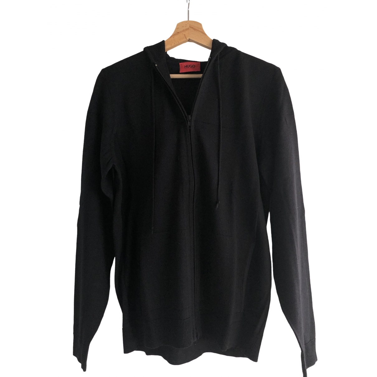 Hugo Boss \N Black Wool Knitwear & Sweatshirts for Men M International