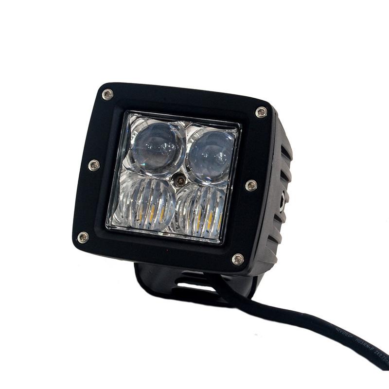 LED Light Pod 2 x 2 Inch Flood/Spot Beam 20 Watt 1,860 Lumens Tuff Stuff Overland TS-LED-2X2-FBSB-20