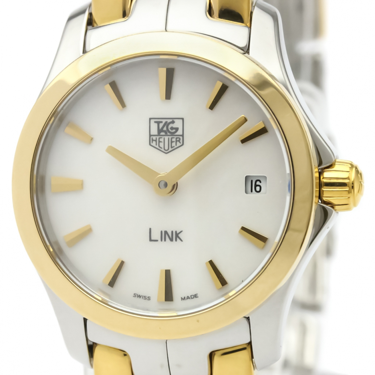 Tag Heuer Link Lady White Gold plated watch for Women \N
