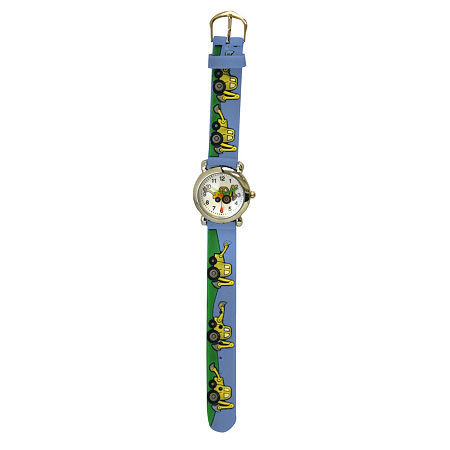 Olivia Pratt Tractor Boys Blue Strap Watch-17186, One Size , No Color Family