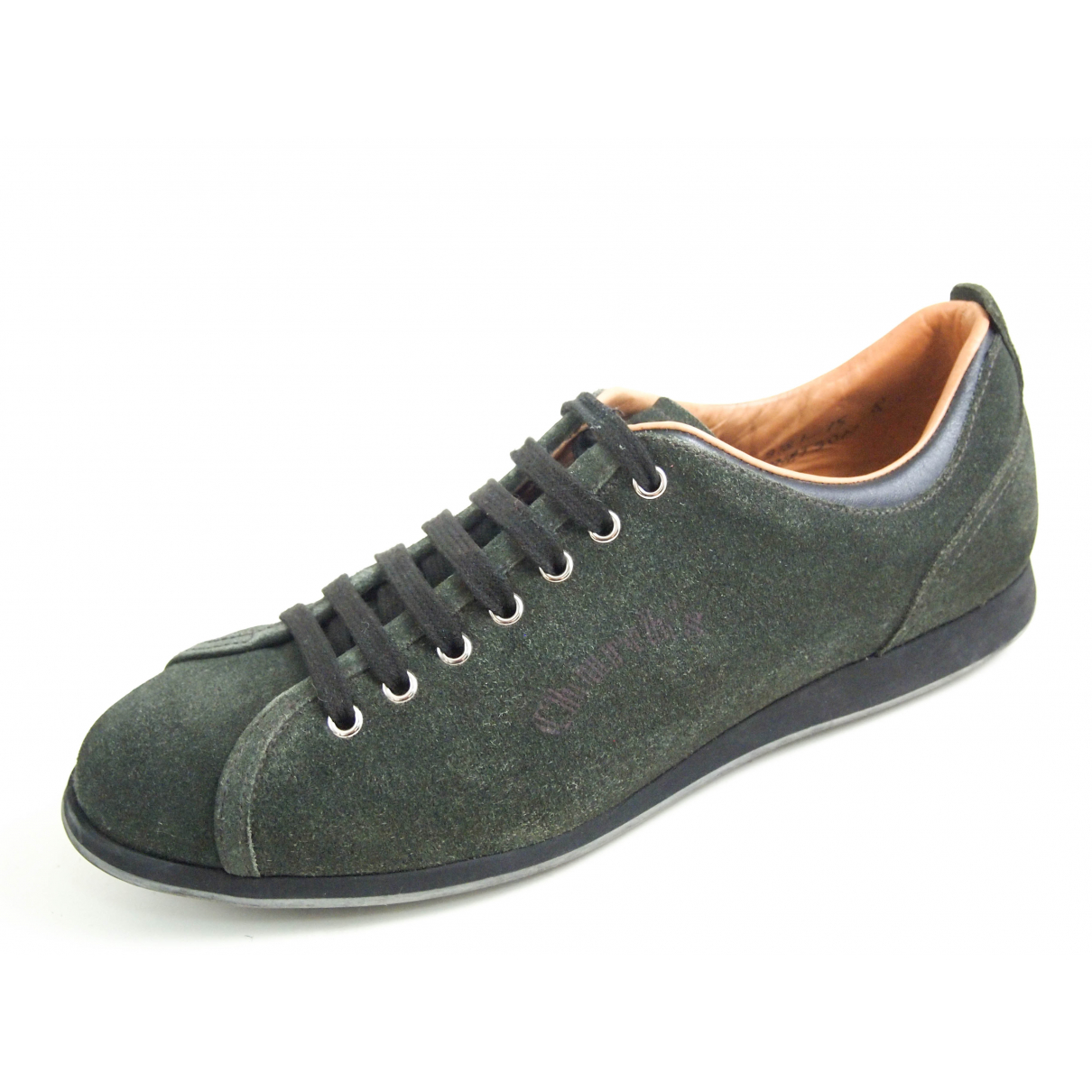 Church's \N Green Suede Trainers for Men 42 EU