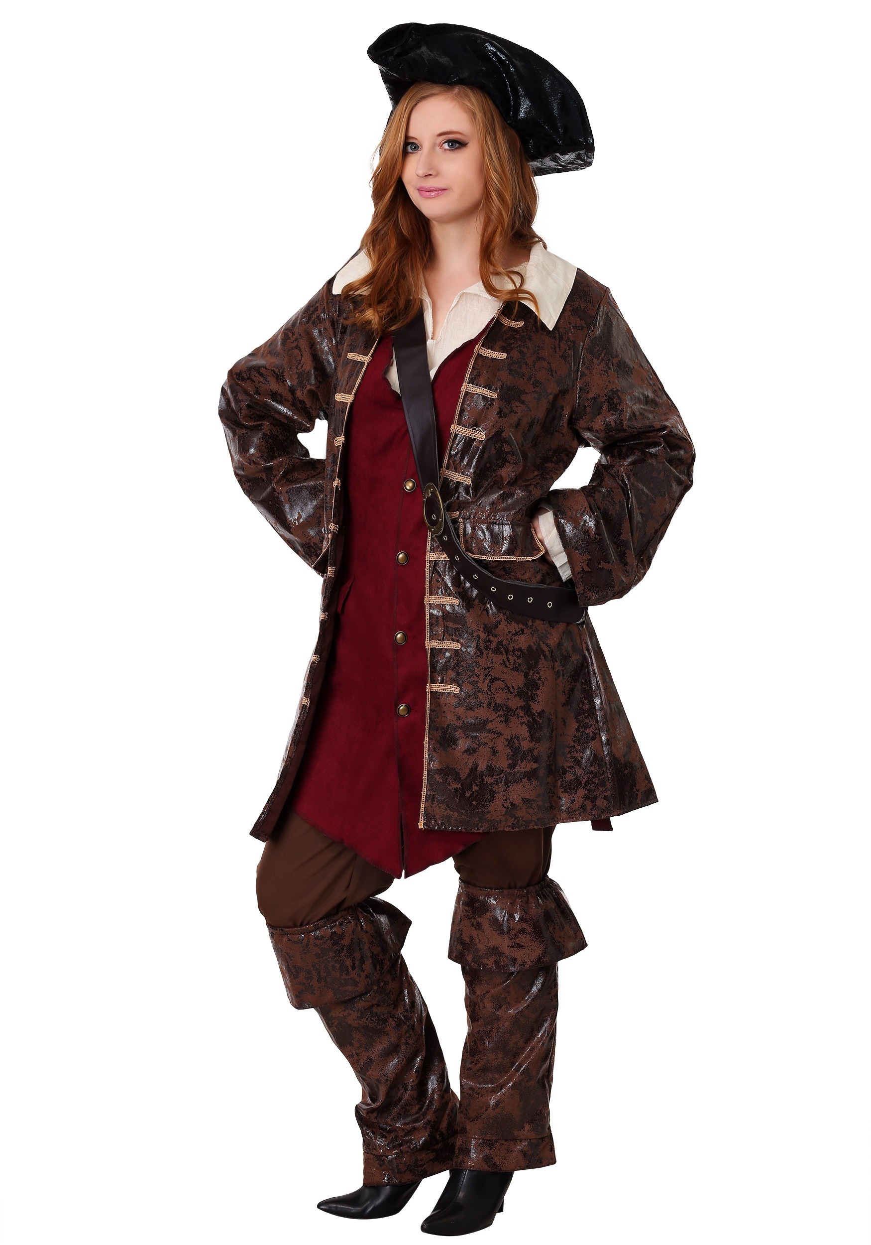 Caribbean Pirate Plus Size Costume for Women