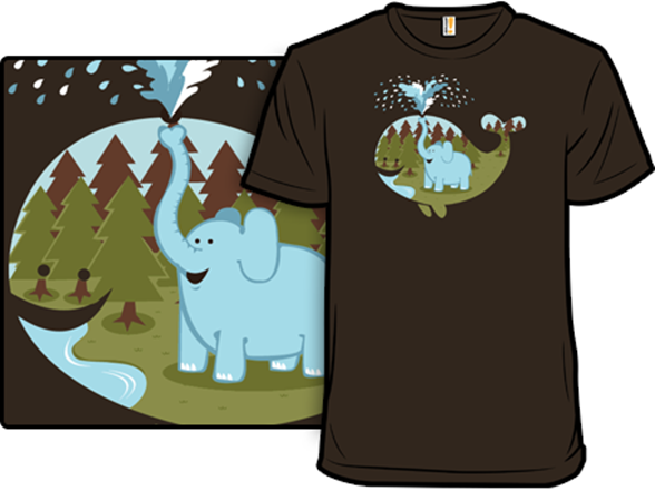 Elephicanswim T Shirt