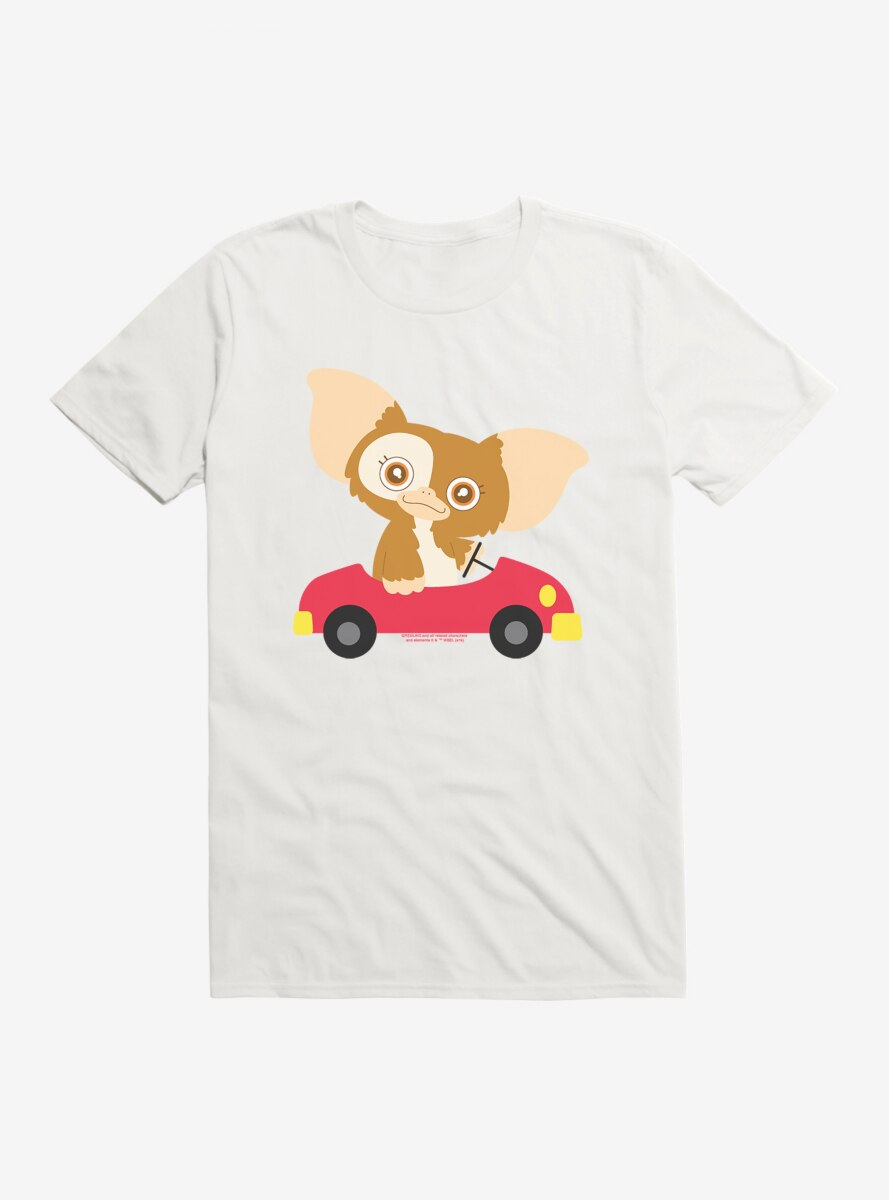 Gremlins Adorable Gizmo Driving T-Shirt