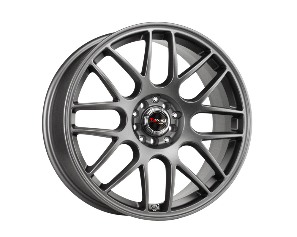 Drag DR-34 Charcoal Gray Full Painted 17x7.5 5x100/114.3 45mm