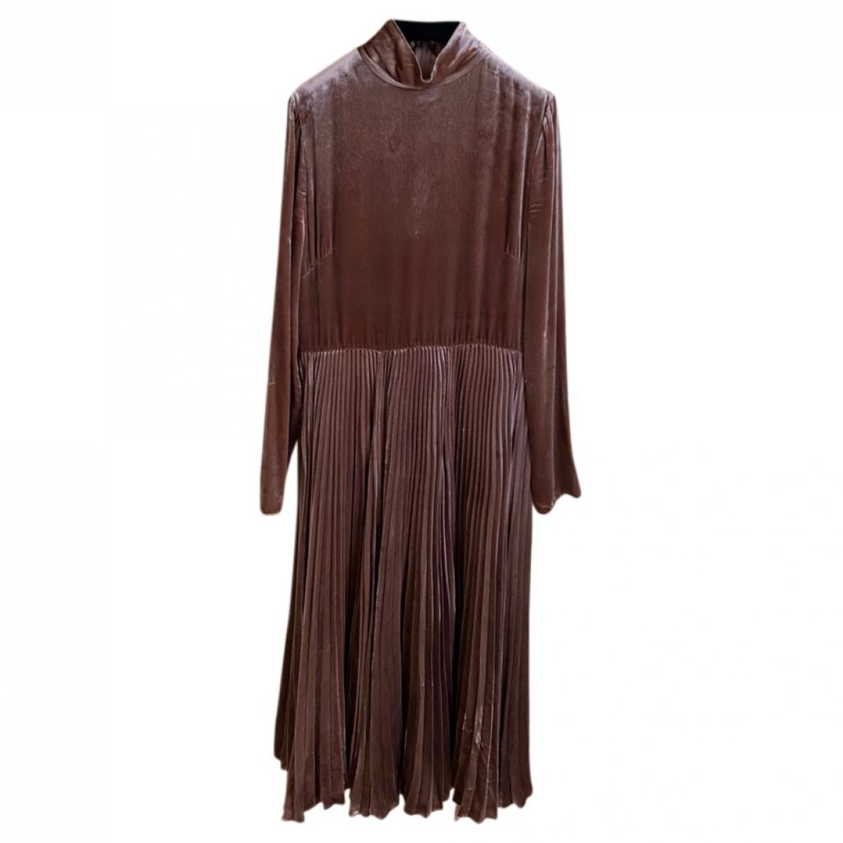 Valentino Garavani \N Camel dress for Women 44 IT