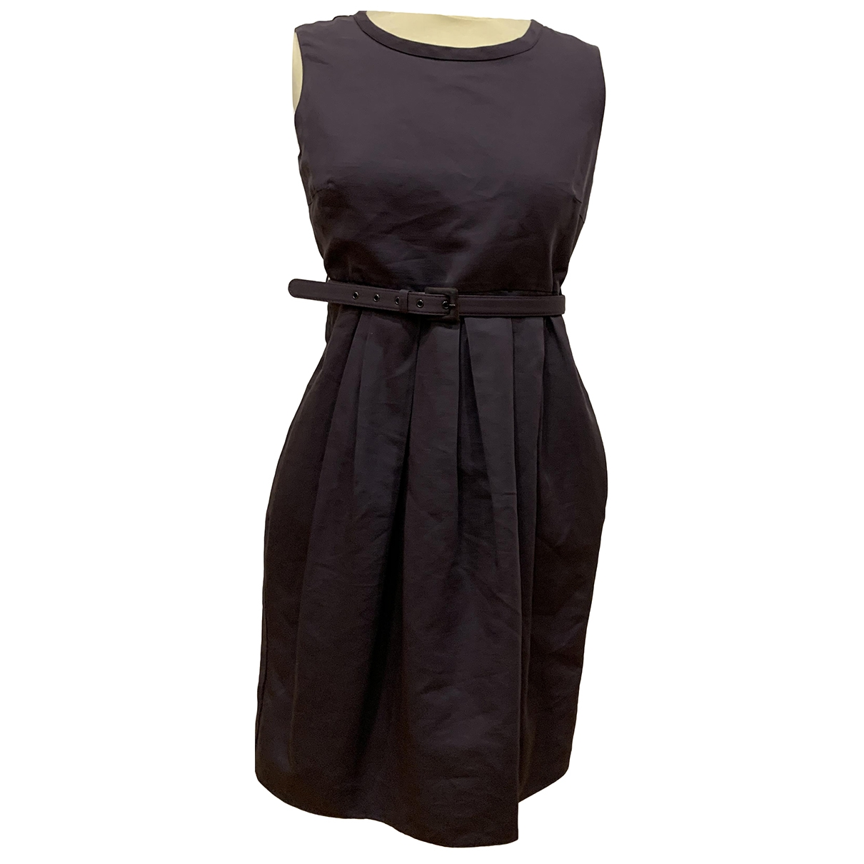 Max Mara 's \N Burgundy Cotton dress for Women 40 IT