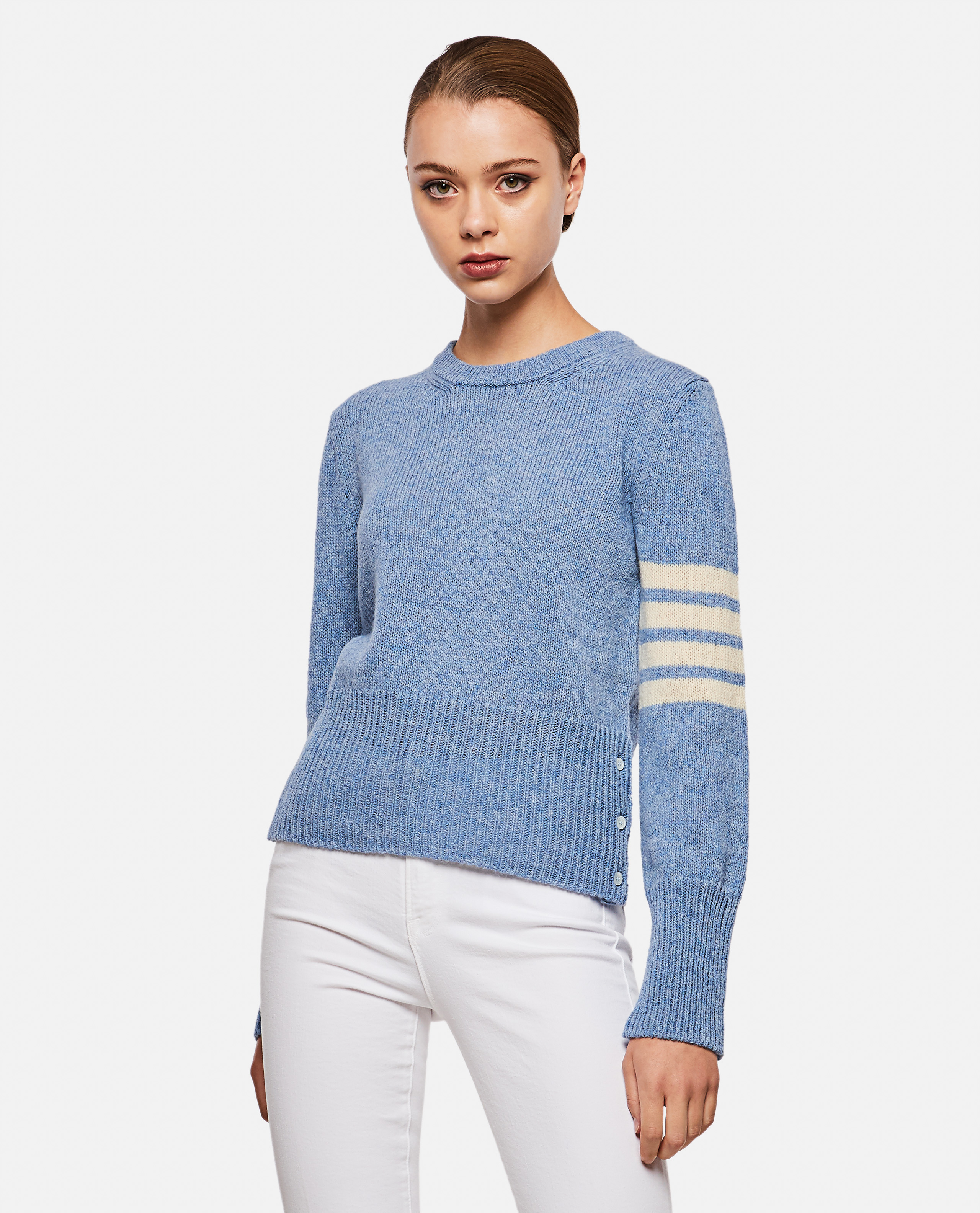 Thom Browne 4-bar knitted sweater