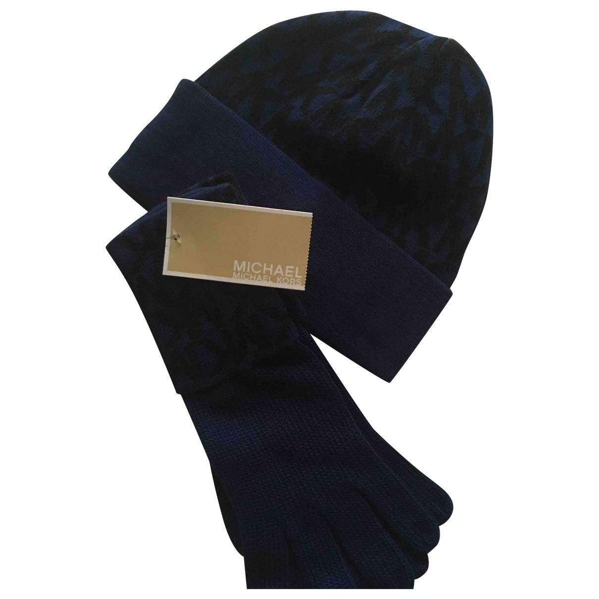 Michael Kors \N Blue Wool Gloves for Women S International