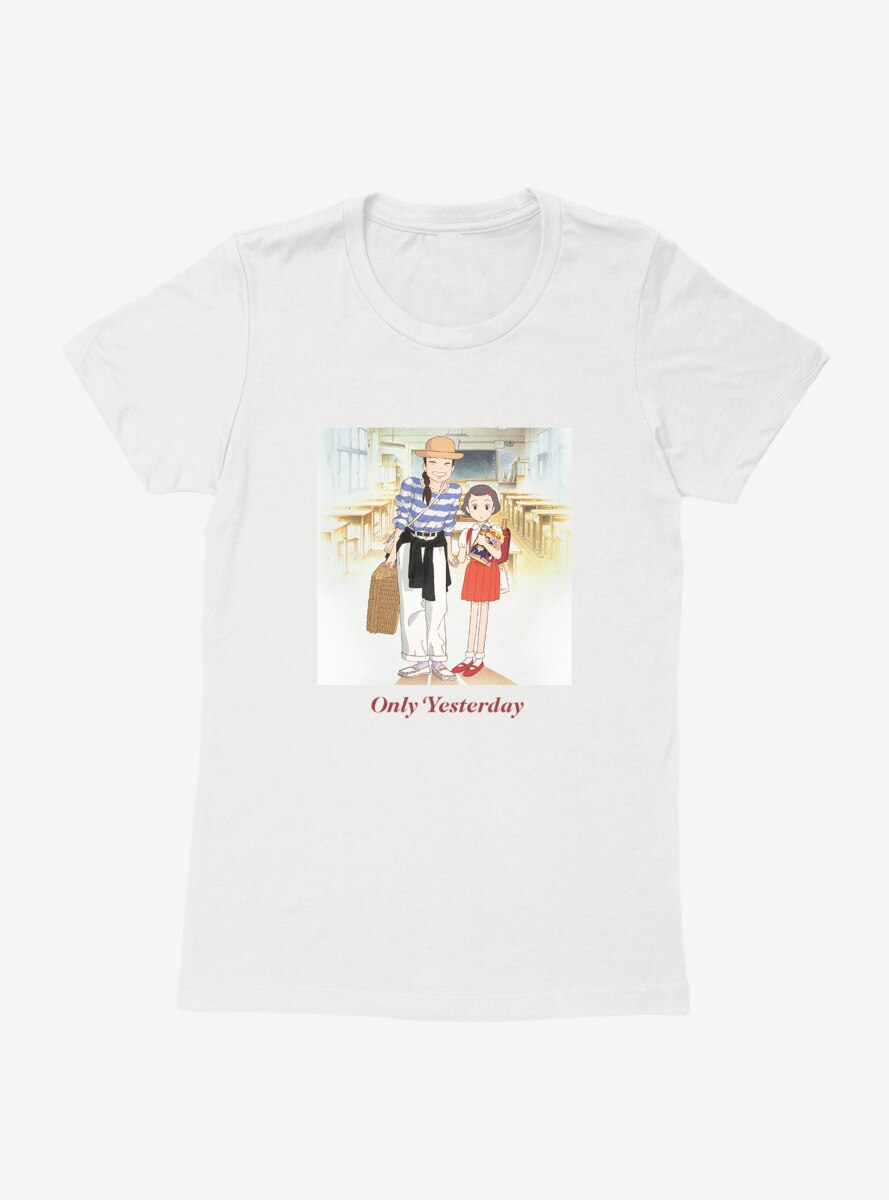 Studio Ghibli Only Yesterday Womens T-Shirt