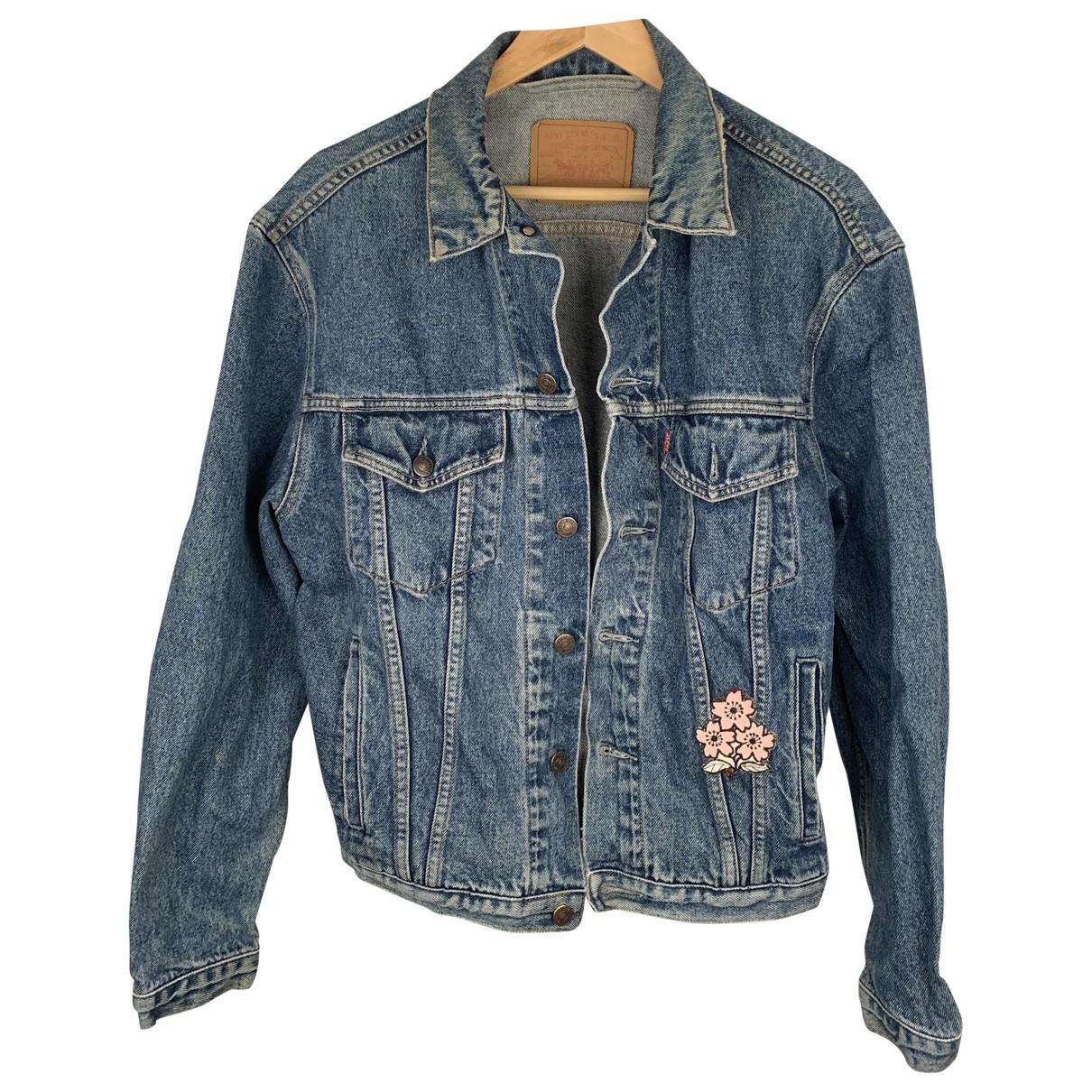 Levi's \N Blue Denim - Jeans jacket for Women 10 UK