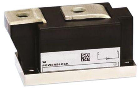 Infineon , TZ500N16KOFHPSA1, Thyristor Module, PCT, 500A 1600V, 5-Pin Module 50mm