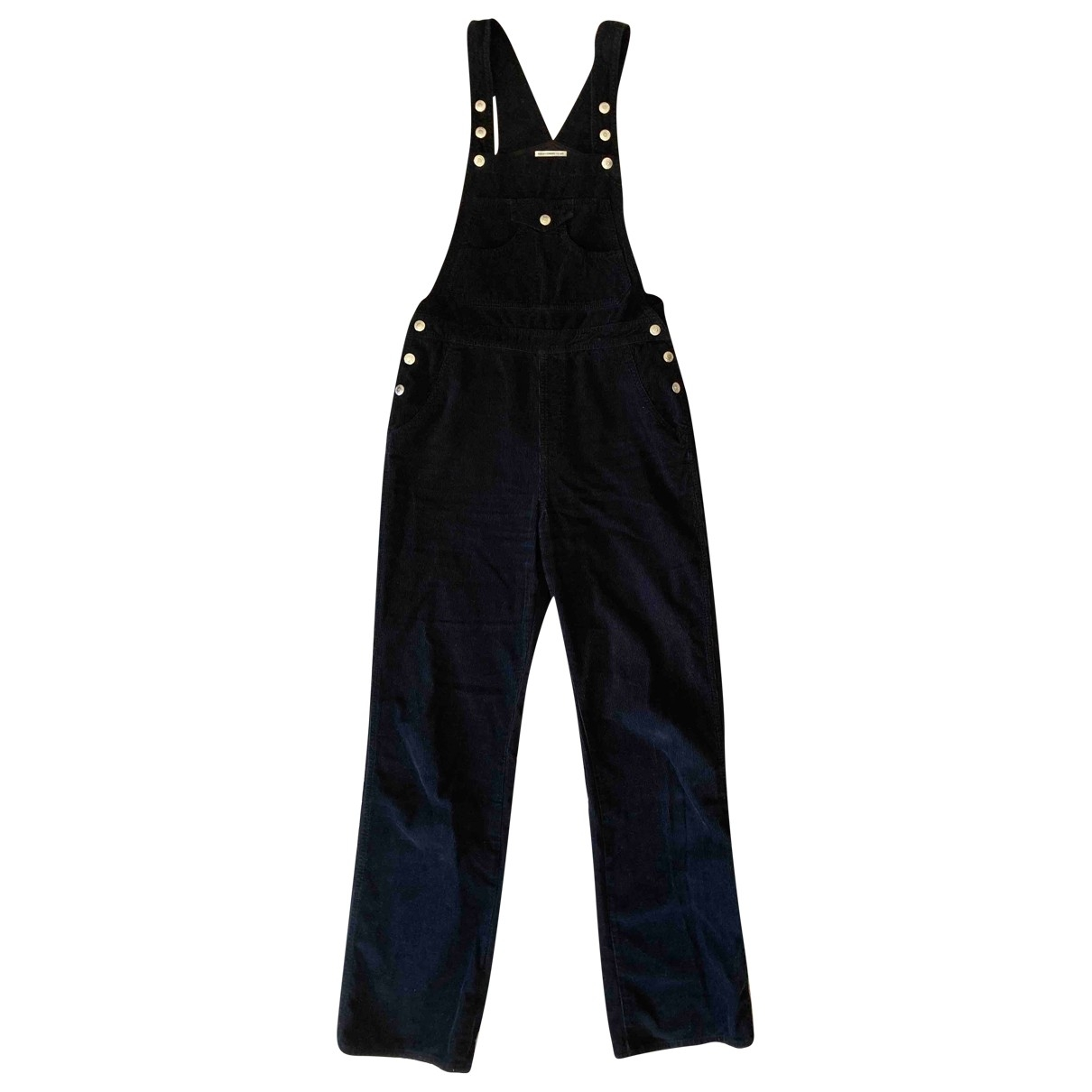 Alexa Chung For Ag \N Navy Cotton Trousers for Women L International
