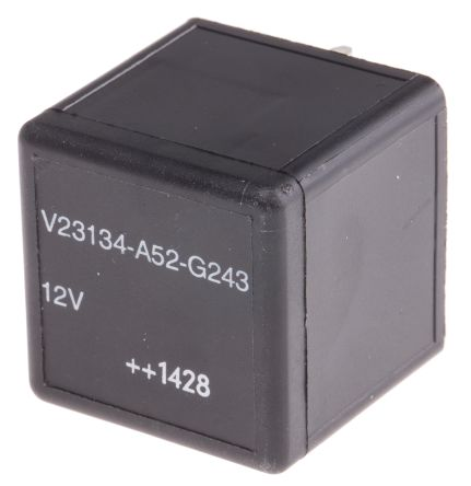 TE Connectivity , 12V dc Coil Automotive Relay SPDT, 40A Switching Current PCB Mount Single Pole