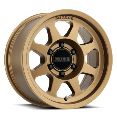 Method Race Wheels 701 Trail Series, 17x7.5 with 5x4.5 Bolt Pattern - Method Bronze - MR70177512930