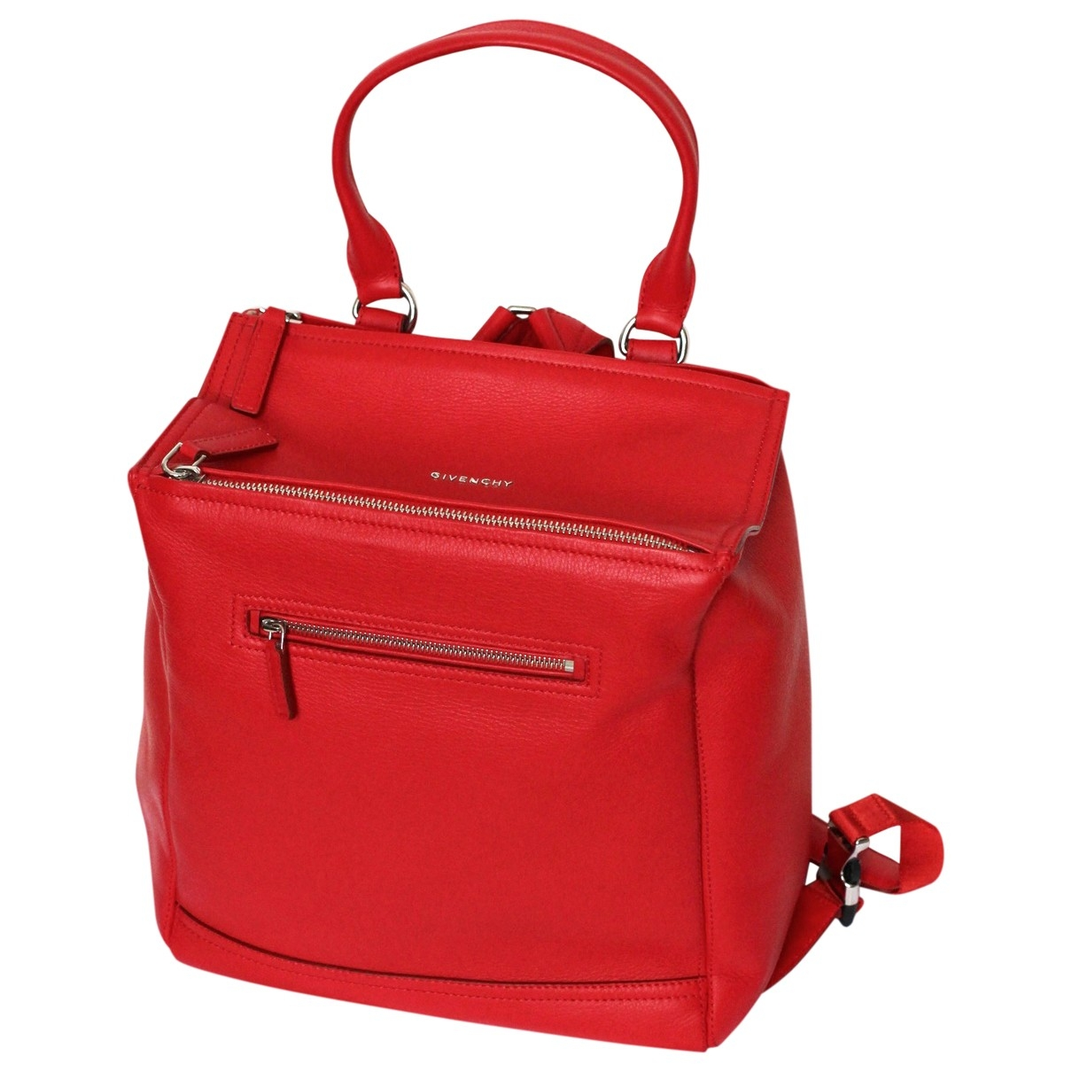 Givenchy Pandora Box Red Leather backpack for Women \N