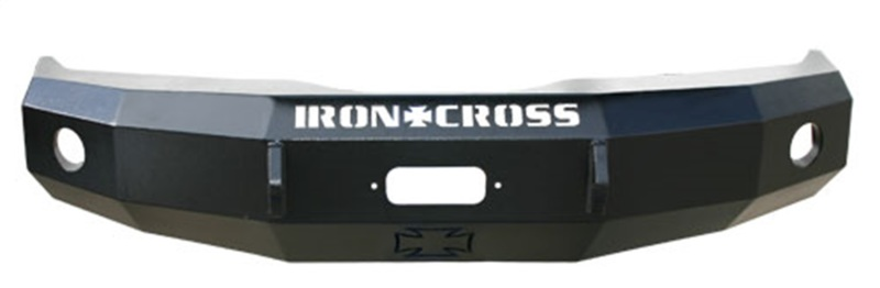 Iron Cross 20-415-04 Heavy Duty Base Front Winch Bumper - Gloss Black Ford F-150 2004-2008