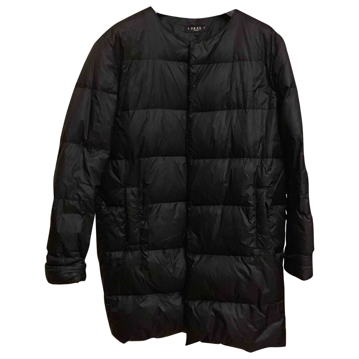 Non Signé / Unsigned \N Black coat for Women One Size International