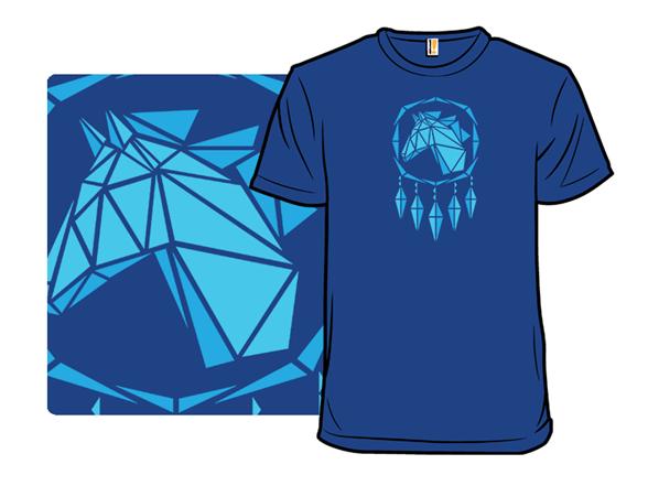 Wild Wolf Spirit T Shirt
