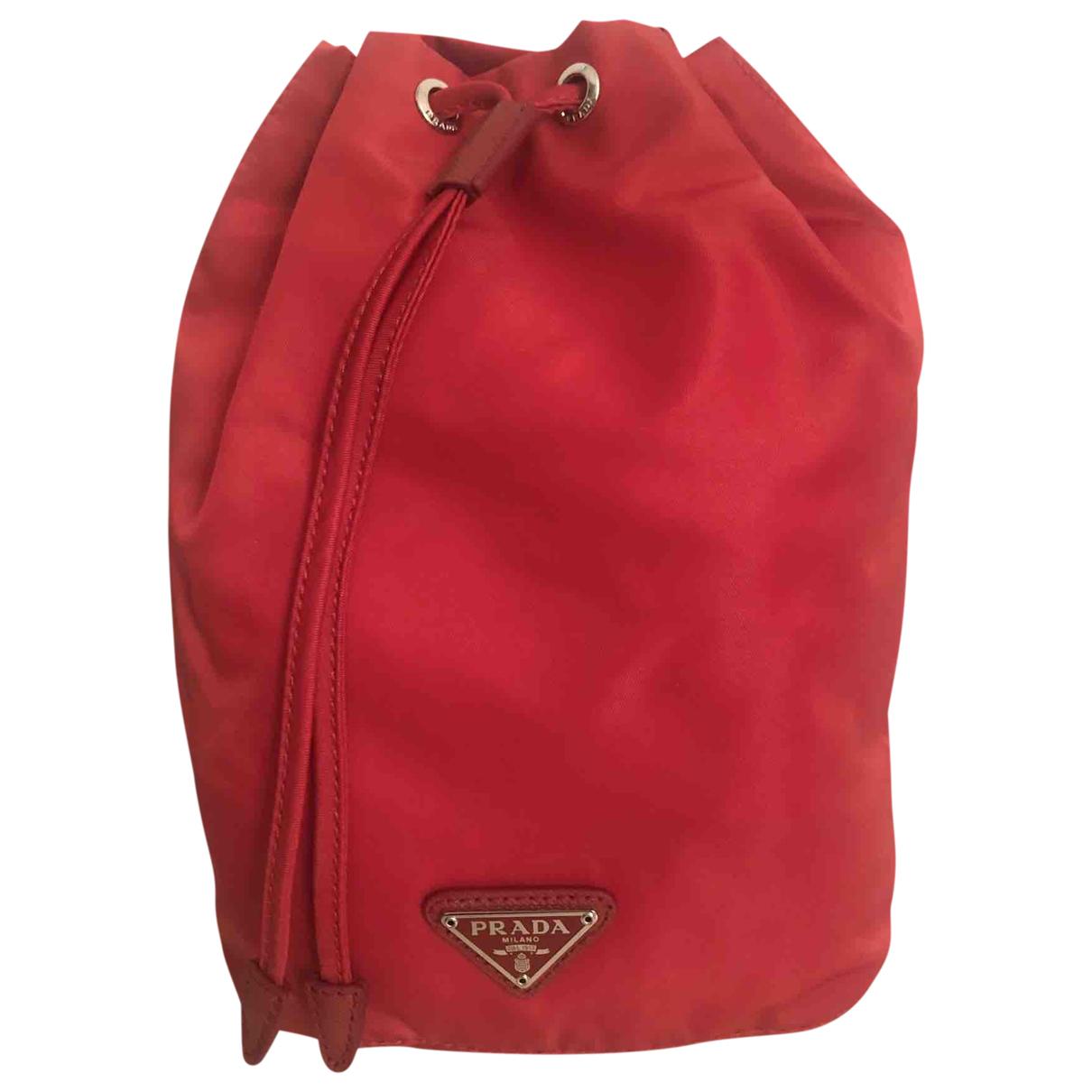 Prada \N Red handbag for Women \N