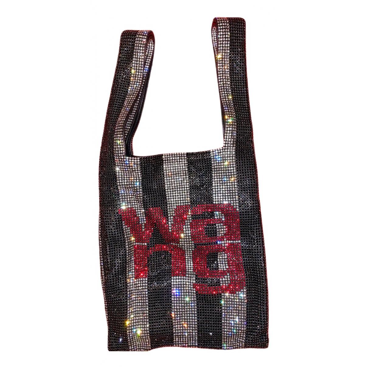 Alexander Wang \N Silver Glitter handbag for Women \N