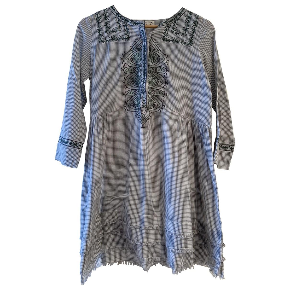 Soeur \N Grey Cotton dress for Women 34 FR