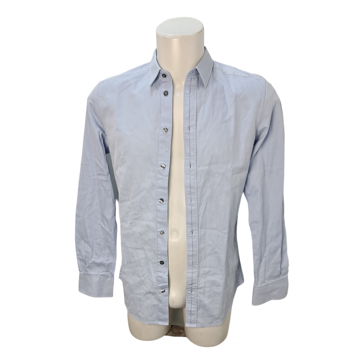 D&g \N Cotton Shirts for Men 15 UK - US (tour de cou / collar)