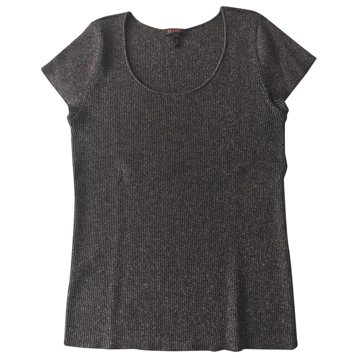 Escada \N Black Wool  top for Women 38 FR