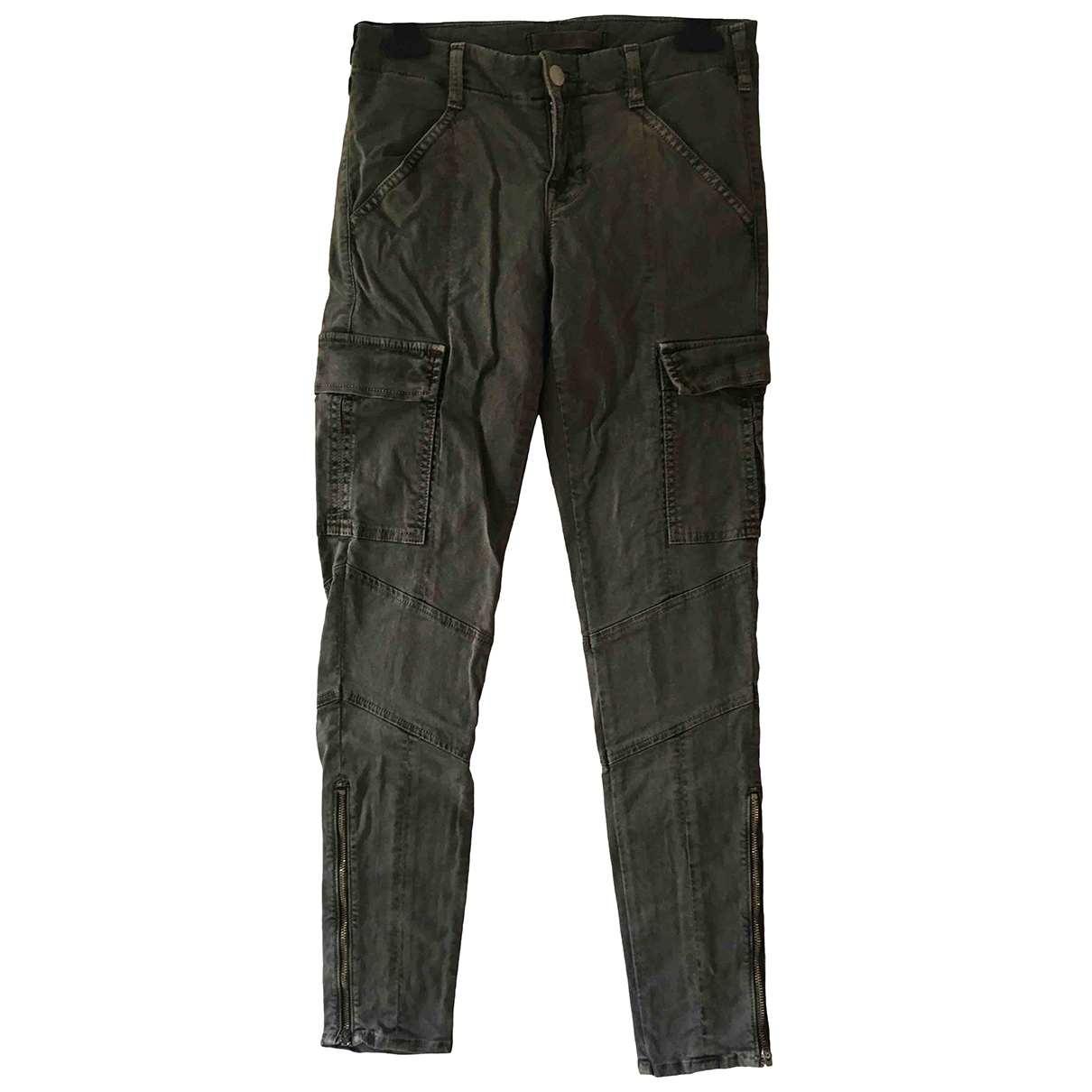J Brand \N Khaki Cotton - elasthane Jeans for Women 25 US