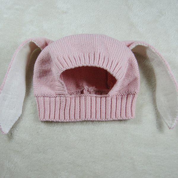 Rabbit Ear Design Three Colors for Choose Baby Hat Photo Prop