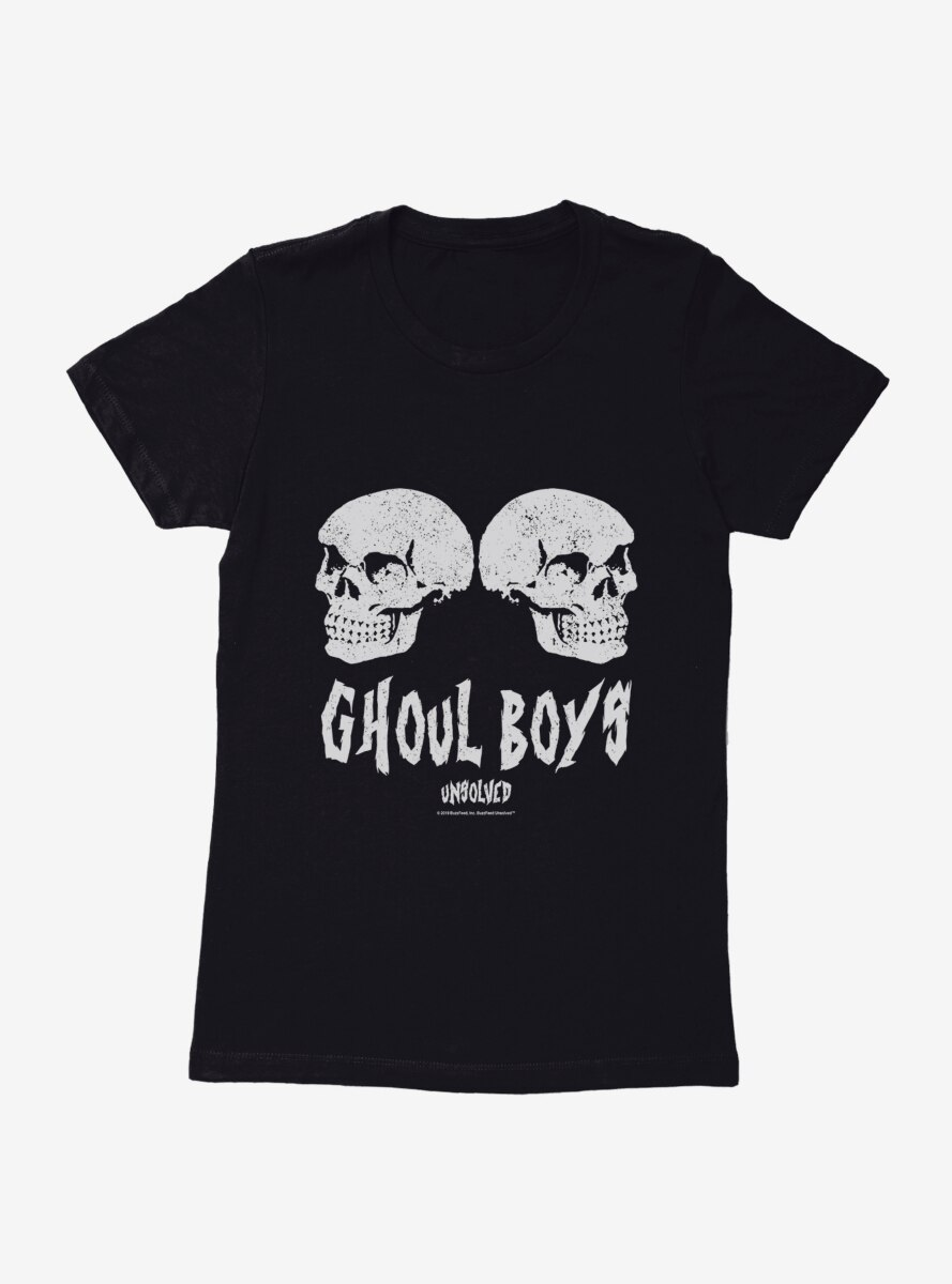 Buzzfeed's Unsolved Ghoul Boys Womens T-Shirt