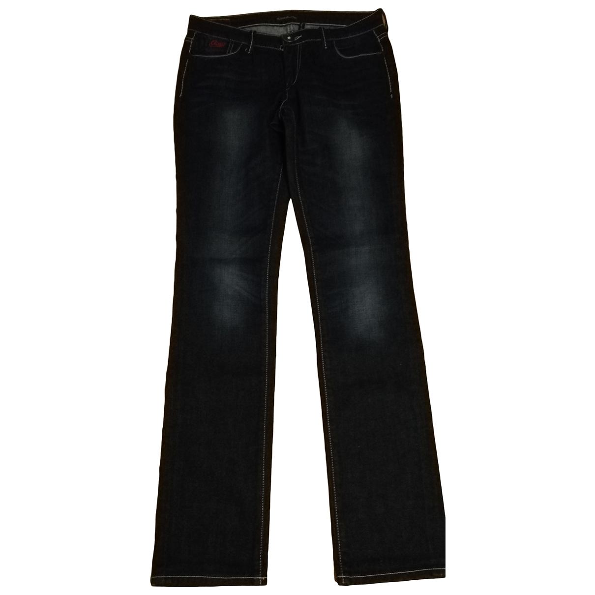 Guess \N Blue Cotton - elasthane Jeans for Women 30 US