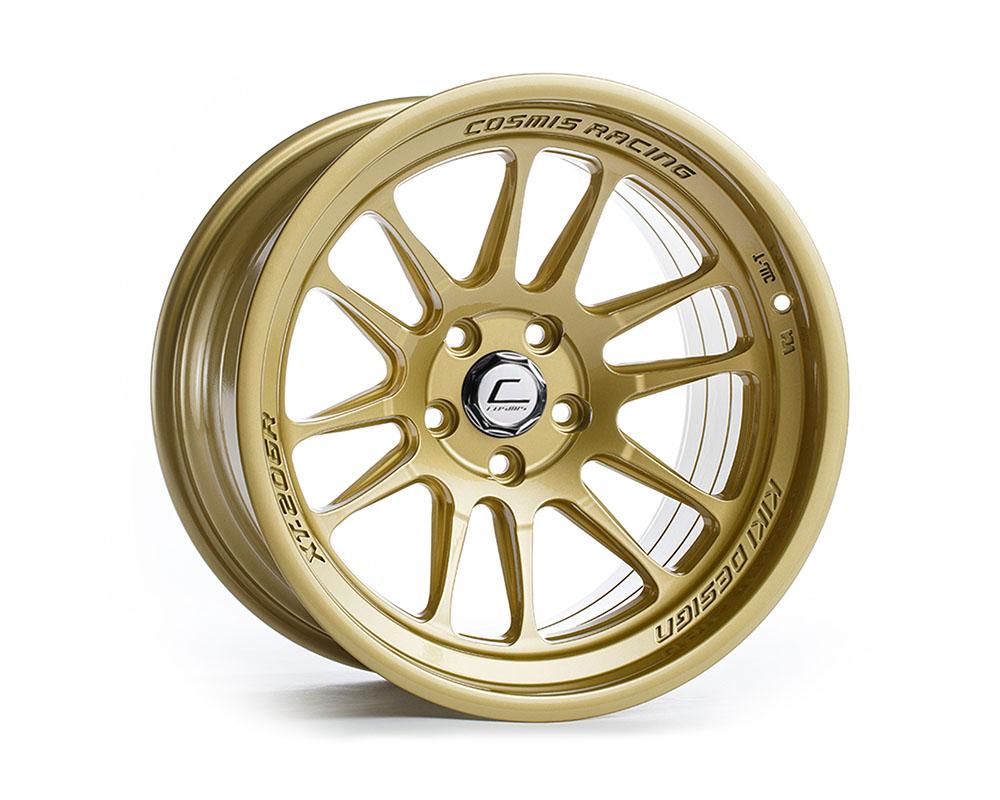Cosmis Racing XT206R-1895-10-5x114.3-G XT-206R Wheel 18x9.5 5x114.3 +10mm Gold
