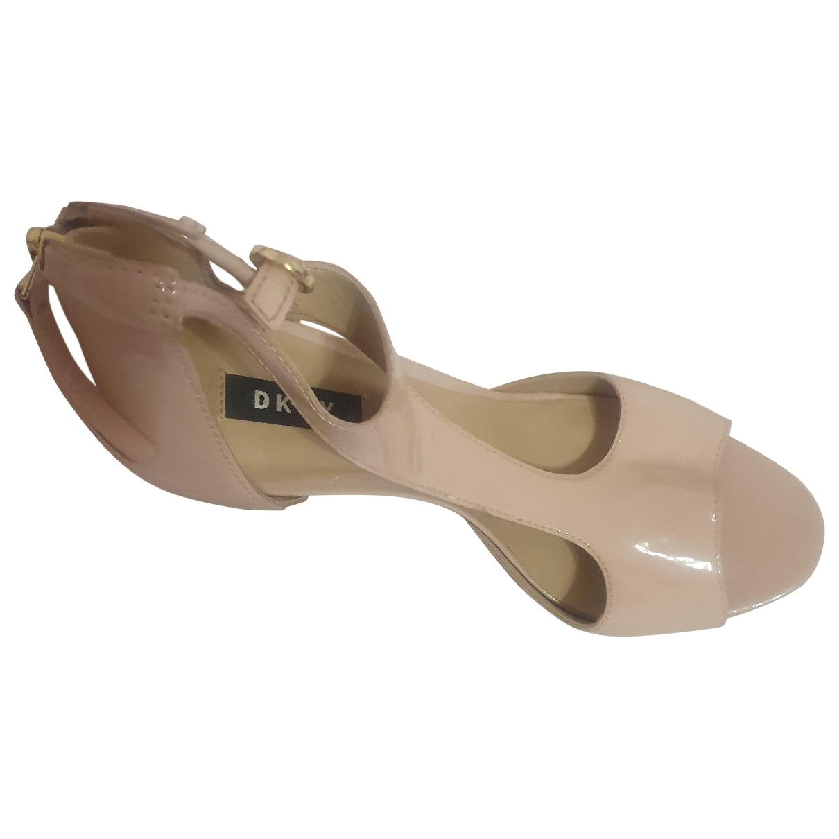 Dkny \N Patent leather Heels for Women 8 UK