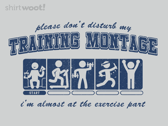 Training Montage T Shirt