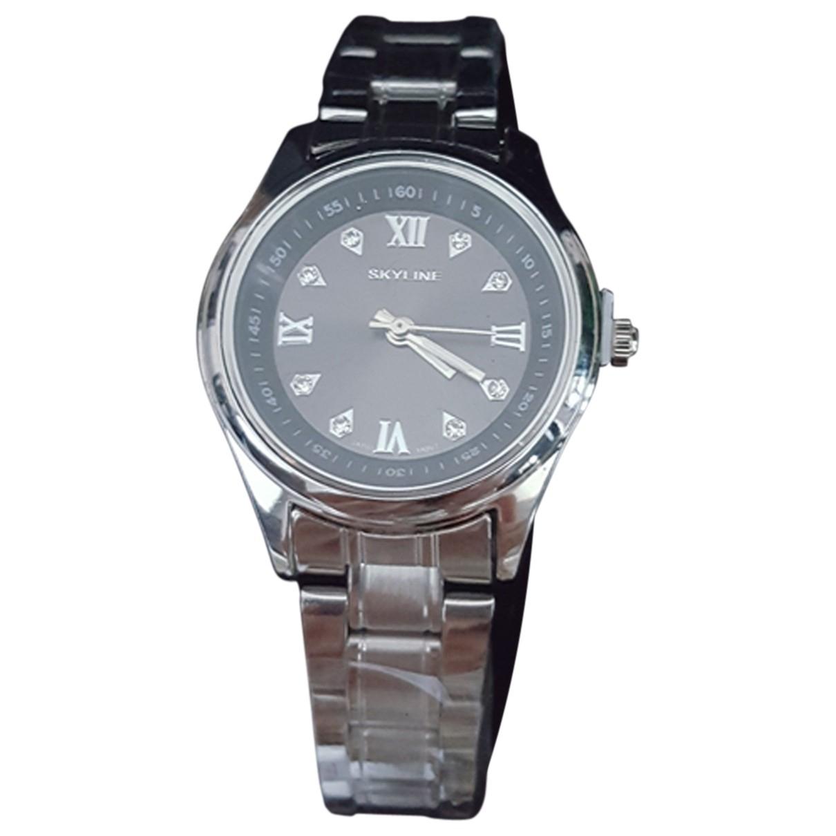 Paterson \N Silver Steel watch for Women \N