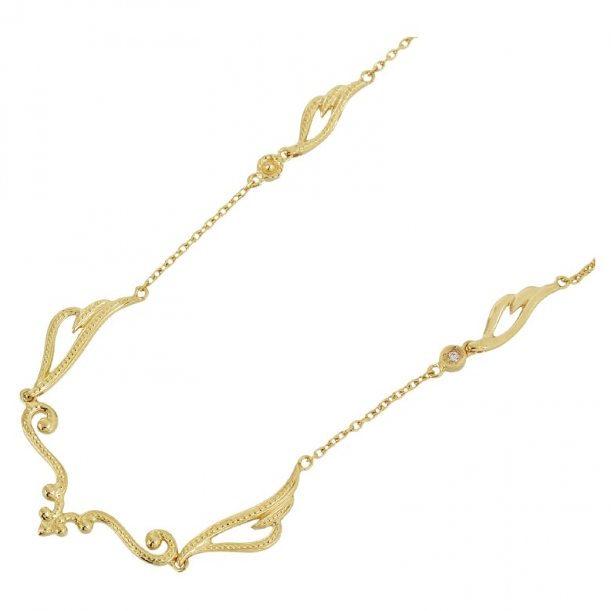 Non Signé / Unsigned \N Gold Yellow gold necklace for Women \N