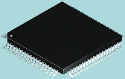 Microchip PIC18LF8520-I/PT, 8bit PIC Microcontroller, PIC18F, 40MHz, 1.024 kB, 32 kB Flash, 80-Pin TQFP