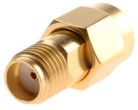 Radiall Straight 50Ω RF Adapter SMA Plug to SMA Socket 0 → 18GHz