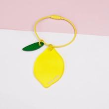 Lemon Acrylic Keychain