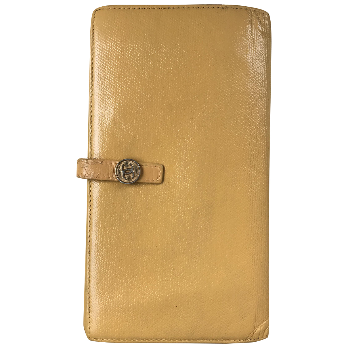 Chanel \N Yellow Leather wallet for Women \N