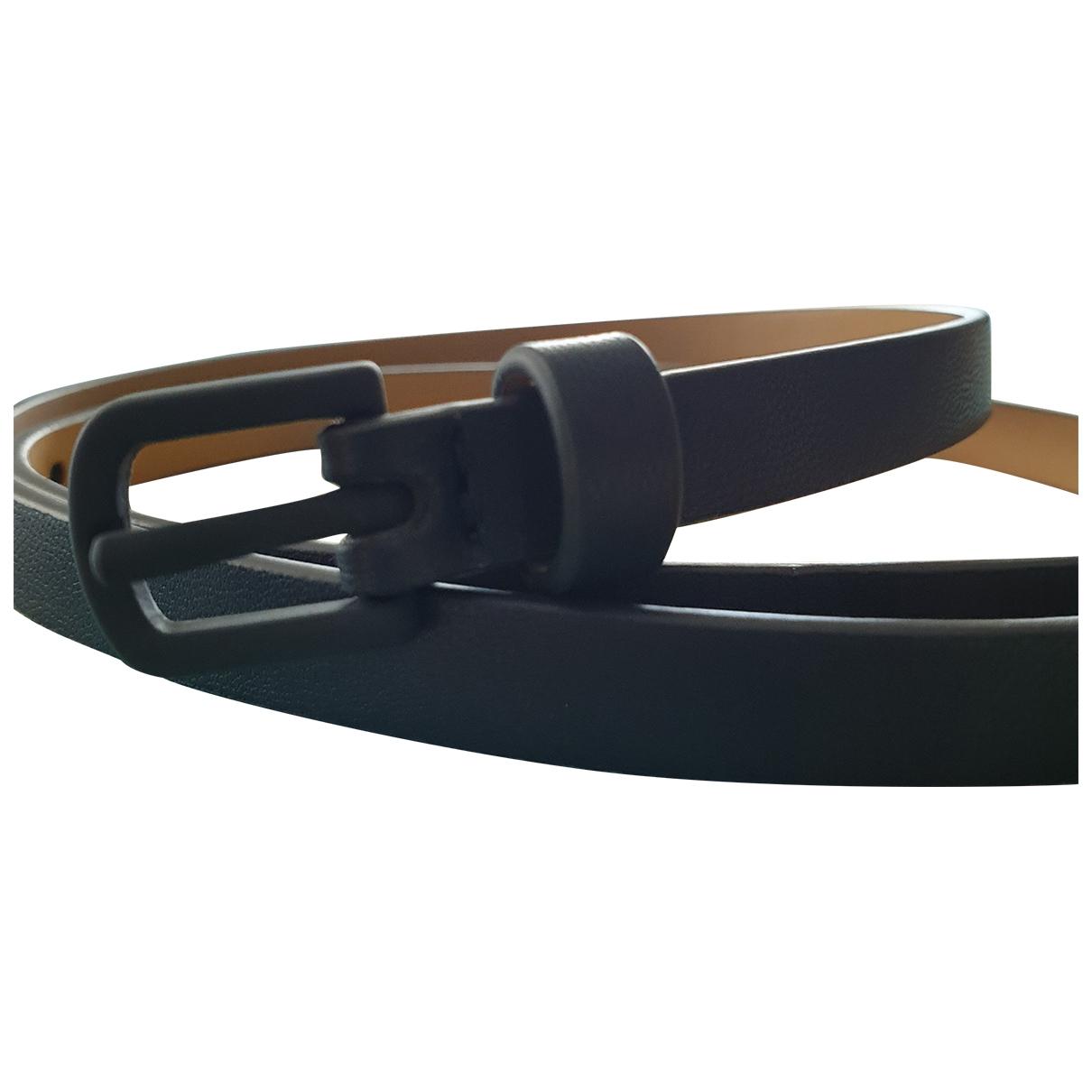 Max Mara \N Blue Leather belt for Women L International
