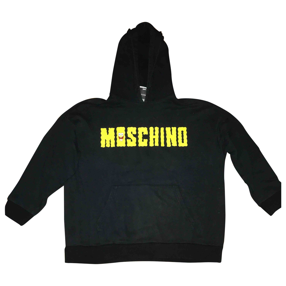 Moschino \N Black Cotton Knitwear for Women 40 IT