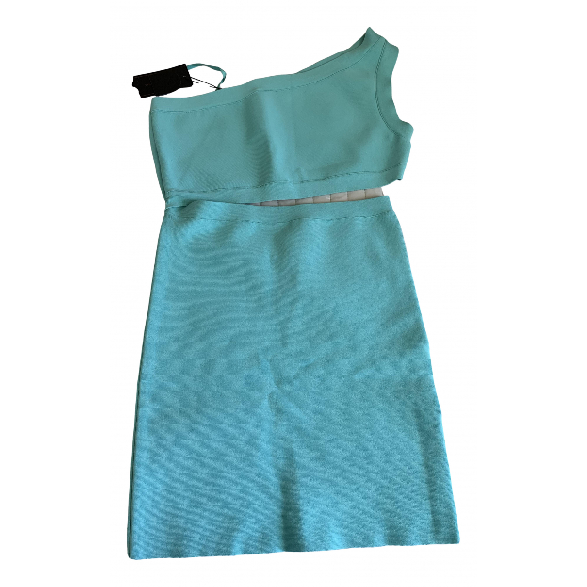 Bcbg Max Azria \N Turquoise dress for Women 38 FR