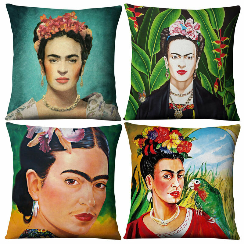 Beauty Pillowcase Linen Pillow Cushion Cover Home Fabric Sofa Cushion Cover